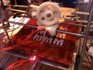 Makerspace Ms printing in the Reprap