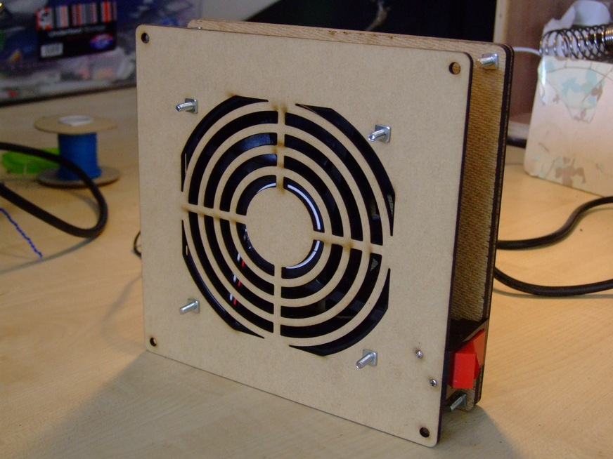 Solder Fume Extractor Fan Makerspace
