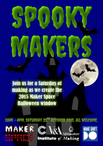 Spooky Makers Poster